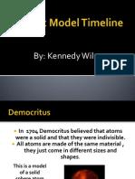 atomic model timeline kennedy w