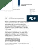 Aanbiedingsbrief Bij Overzicht Bijzondere Uitkeringen Caribisch Nederland
