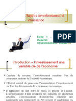 thème définition et mesures de l'investissement 2009-2010