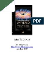 Dr Felix Toran Articulos La Respuesta Del Universo La Ley de La Atraccin Abril 2009