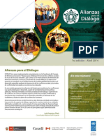 Boletín #1 _ Alianzas para el Diálogo