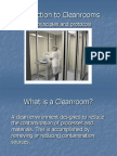 Introduction to Clean Rooms