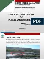 Construcción Del Puente Santo Domingo 2014