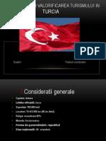 Organizarea Si Valorificarea Turismului In Turcia