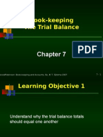 Chapter 7 Book-keeping the Trial Balance Students