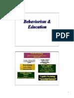 behaviorism notes