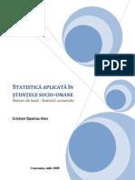 Statistica - Dafinoiu