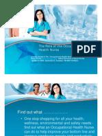 6E - Jeannette Combes - Role of an Occupational Health Nurse