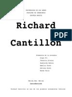 Trabajo Richard Cantillon