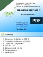 UFPI Digitais II 8 Programacao Do PIC v1 0