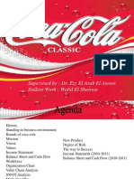 Coca Cola Supply  Chain Model