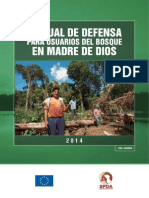 Manual de Defensa Para Usuarios Del Bosque en MDD (2da Edición) - SPDA