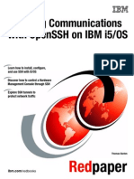 Securing Communications With OpenSSH on IBM i5OS