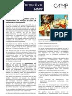 Newsletter CAMMP - Especial Laboral (Maio de 2014)