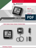 Manual Bc509 Us
