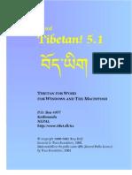 Tibetan! 5.1