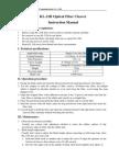 KL-21B Fiber Cleaver Manual