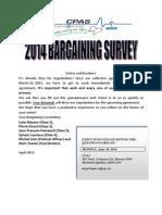Questionnaire Consultations Membres 2014 Anglais