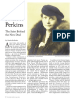 Frances Perkins-The Saint Behind the New Deal