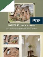 9625 Blackburn Livonia MI | Old Rosedale Gardens Brick Tudor