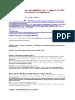 Codul de Procedura Civila Republicat 2012-Legea 1342012