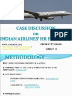 Indian Airline Hr Probs