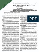 HG 28-2008-Aprobarea Continutului Cadru Al Documentatiei Tehnico-economice