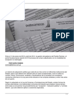 La hora Procurement Exceptions - 9 May 2014