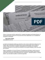 La hora Procurement Exceptions - 9 May 2014