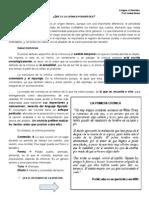 Cronica Definicion y Actividades