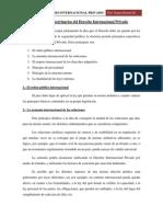 Principios Doctrinarios Del Derecho Internacional Privado