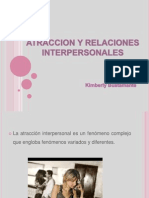 Atraccion y Relaciones Interpersonales