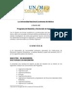 Ingeneiria Petrolera Maestria CONVOCATORIA
