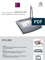Wacom STU-500 Tablet