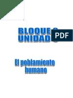 Unidad 3 El Poblamiento Humano