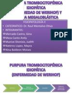 Fp Pti y Anemia Megaloblástica
