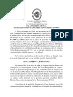 Sala Constitucional Debido Proceso