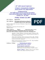 Amss Conf Program-2007