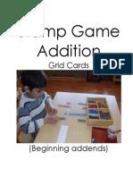 Montessori Stamp Game Addition