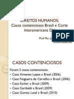Aula 07 - Casos Contenciosos Corte Idh x Brasil