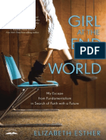 Girl at the End of the World by Elizabeth Esther (First Look)