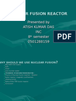 Nuclear Fusion Reactor Works