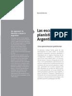 Las Escuelas Pianísticas en Argentina
