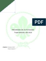 Programa Anual 2013 Tropa Keikruka (1)