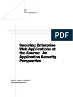 Securing Enterprise Web Applications at the Source