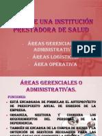Áreas de Una Institución Prestadora de Salud