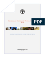 Standard Project Document Format Tcp Spanish