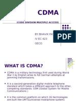 Seminar fon CDMA or computer eng.student