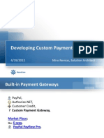 Developing Custom Payment Gateway