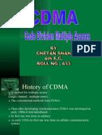 Seminar on CDMA by amit